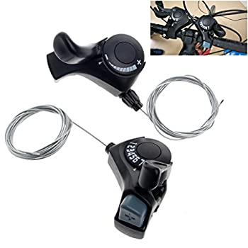 Usdepant Mountain Bike Trigger Shifter 7 Gears 21 Speed 2 Pcs/Pair