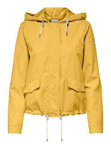 Only ONLSKYLAR Hood Spring Jacket CC OTW Chaqueta, Mimosa, L...