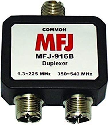MFJ Enterprises Original MFJ-916B 1.8-225, 350-540 MHz Duplexer - SO-239