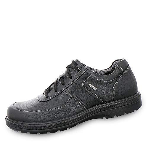 Jomos Air Comfort 459806-38-000 Herren Sympatex®-Schnürschuh Glattleder mit Wechselfußbett, Groesse 42, schwarz