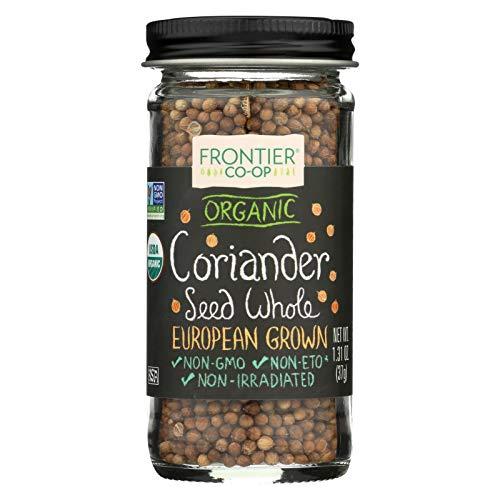 Coriander Seed, 95% organic, Whole , 1.12 oz