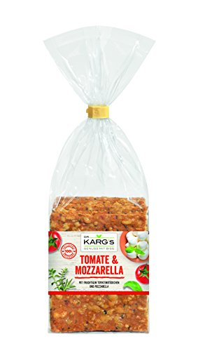Dr.Karg Knäckebrot Tomate-Mozarella, 10er Pack (10 x 200 g Beutel)