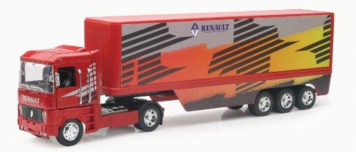 New Ray - 10013 - Véhicule Miniature - Camion Renault Magnum - Conteneur - Echelle 1/32