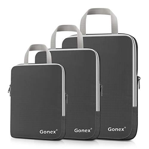 Gonex® ,  Kofferorganizer, grau (grau) - Gonex-HP1083