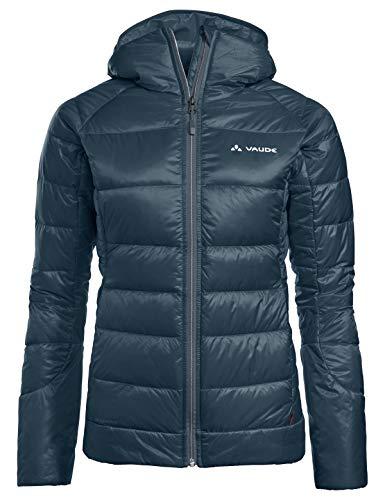 VAUDE Damen Women's Kabru Hooded Jacket Iii Jacke, steelblue, 38 EU