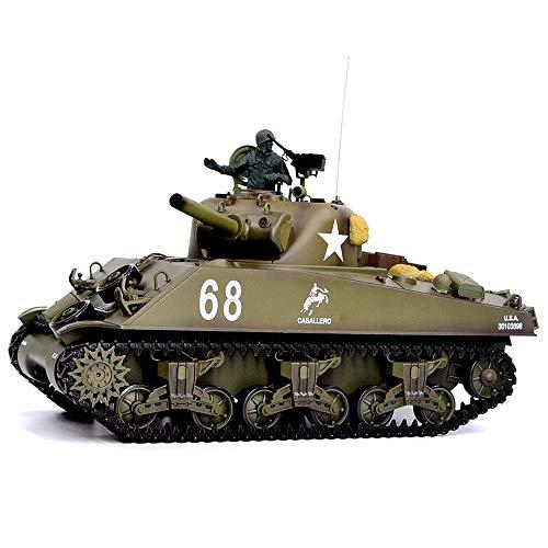 XSLY 320 ° de rotación de la torreta RC Off-road tanque del...