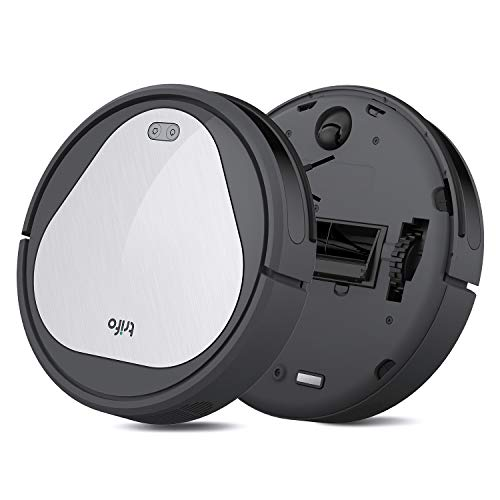 Trifo Emma Essential Robot Vacuum Cleaner, 110-Minute Runtime, Wi-Fi Connectivity, Works with Alexa, Good for Pet Hair, Carpets, Hard Floors, Self-Charging… (4000Pa, pet Extractor)