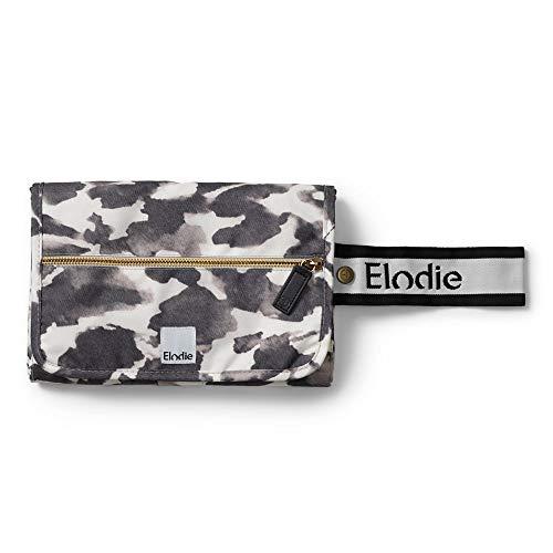 Elodie Details Wickelunterlage für Unterwegs Mini-Tasche Wasserdicht (enthält 2 Frottees) - Wild Paris, Grau