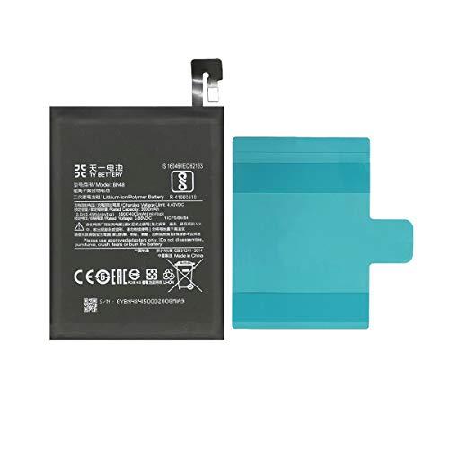 [TY BETTERY] Bateria Compatible con BN48 Xiaomi Redmi Note 6 Pro