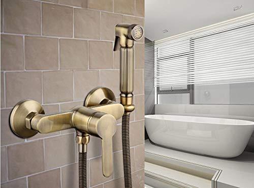 YZDD® Antique toilet cleaner set bronze clean hand shower spray bidet sprayer gun toilet faucets shower bidets enema