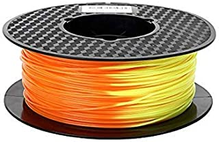 Flasforge PLA Yellow to Orange Color Change 0.5 Kg by WOL 3D