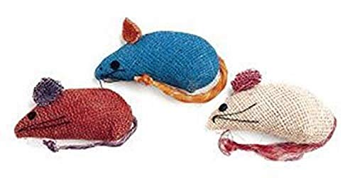 Ethical Cat Jute Mice 3 Pack - 2090