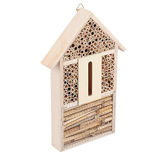 With Tubular Channels Insect House, Safe Bee House, Bees for Insects