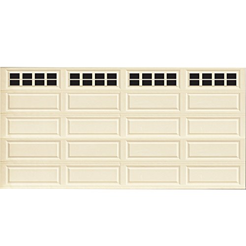 Household Essentials 232 Magnetic Faux Garage Door Windows | 32 Pieces for Double Car Steel Garage Door| Black