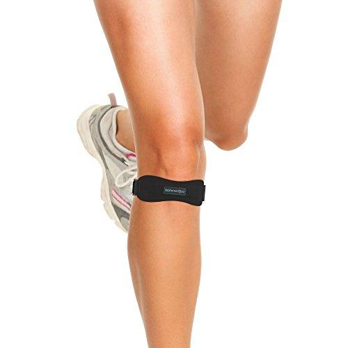 bonmedico Subteno Verstellbare Patellasehnenbandage zur Knie-Stabilisierung
