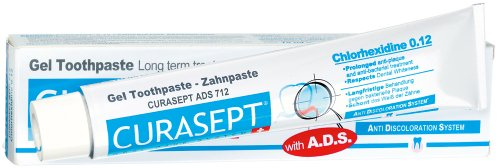 Curaprox Curasept ADS 712, Zahnpasta, 1er Pack (1 x 75 ml)