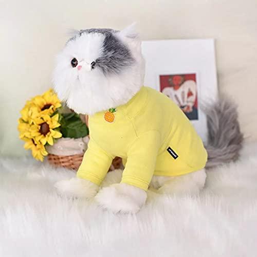 MDKAZ Ropa para Perros Bonito Chaleco para Perros Camisa Ropa para Mascotas Disfraz para Perros Ropa para Cachorros Ropa para Perros pequeños Trajes-XL