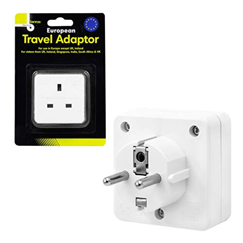 Benross European Travel Adaptor 2 Pin Round
