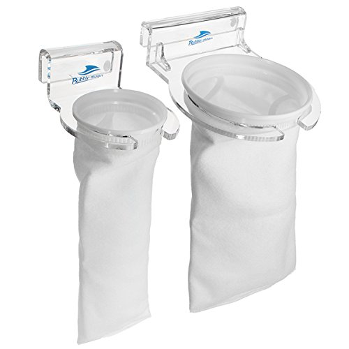 EsportsMJJ Bubble Magus Sump Marine Fish Aquarium Filter Sokken Tas Beugel met Houder Set, 7 Inch, Blauw, 1