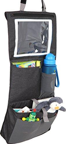 LittleLife Car Seat Organiser Unisex-Baby, Grey