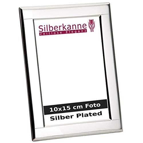 Silberkanne - Cornice portafoto Mainz 10 x 15 cm, con dorso in legno, argento placcato argento