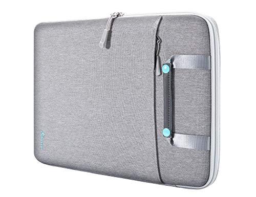 SIMTOP Bolsa protetora para laptop 360 compatível com MacBook Pro de 13 a 13,3 polegadas, MacBook Air, notebook, Thinkpad Yoga, impermeável resistente a choques com bolso acessório