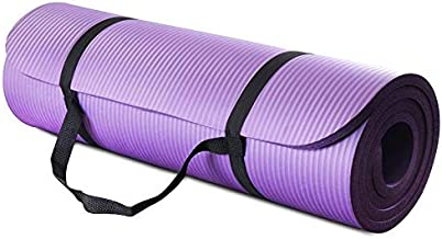 All Purpose Extra Thick High Density Yoga Mat, Purple
