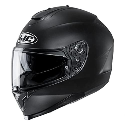 HJC Unisex– Erwachsene NC Motorrad Helm, Schwarz, L