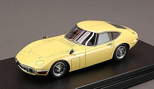 HPI Racing HPI8374 Toyota 2000 GT 1970 Bellatrix Gelb 1 43 MODELLINO DIE CAST kompatibel mit