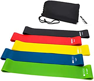 GreenDesert 5 resistance band is equipped with drawstring TPE elastic band, used for fitness exercise equipment, yoga prac...
