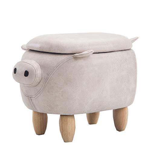 chien Home Decor 4U Repose-pieds pour chien tabouret pour enfants meubles de chambre /à coucher tissu doux repose-pieds animaux pouf rembourr/é repose-pieds animaux