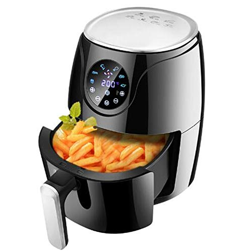 Best Prices! Jwkcm Multi-Function Automatic Oil-Free Air Fryer with Built- in Cool-Touch Housing and...