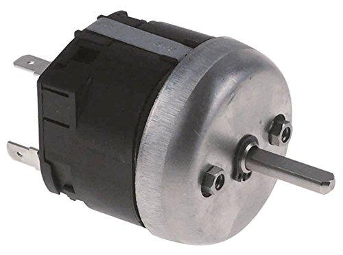 Roller Grill tijdschakelaar M2 met klok looptijd 120 min 250 V 2-polige as 6 x 4,6 x 23 mm aansluiting achter aandrijving mechanisch ja