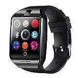 Montre Connectée,CHEREEKI Bluetooth Smartwatch avec Appareil Photo Prend en Charge...