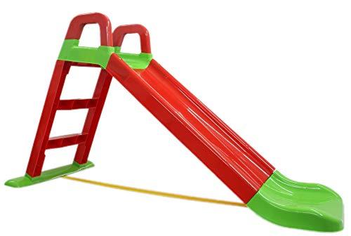 BUSDUGA Rutsche Rot - kompakete Kinderrutsche ab 18 Monate - robuster Kunststoff