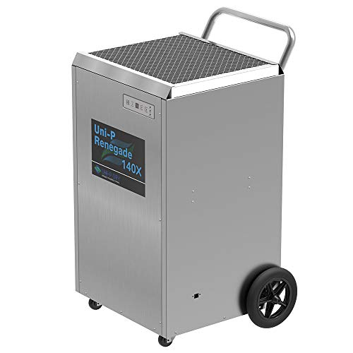 Big Save! Uni-P Dry Renegade 140X Commercial Dehumidifier, 140 PPD HighPerformance, Stainless Steel ...