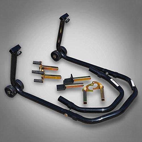 AIOW RicambiWeiss Montageständer Front oder Heckständer Universal Motorradständer Motorrad Heber Motorrad Ständer