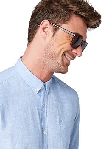 TOM TAILOR Herren Eyewear Zweifarbige Sonnenbrille havanna,OneSize,e663,8000