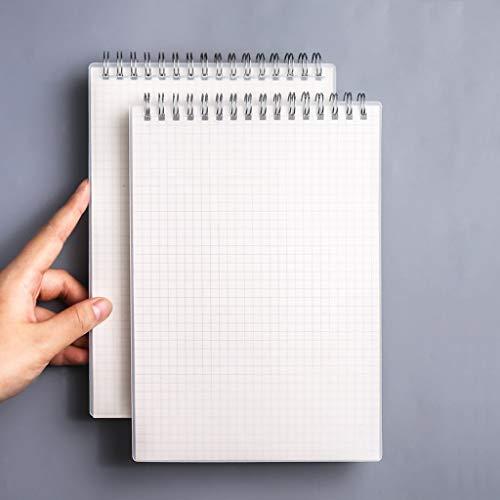 yangdan HF On The Turn - Cuaderno de 2 piezas, 160 fotos en línea de cuadrícula total, cuaderno horizontal de papelería, diario, papelería, cuaderno de bocetos (color: A5, tamaño: cuadrícula×2)