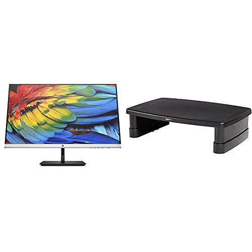 HP 27fh Ultraslim Full HD Monitor with Height Adjust (1920 x 1080) 27 Inch...