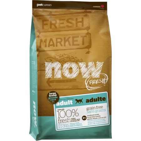 Petcurean Now Fresh Large Breed Adult Dog Food (25...