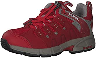 Meindl Kinder Schuhe Snap Junior 2046 Rot/Silber 32