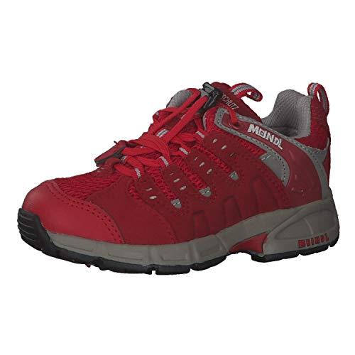 Meindl Chaussures enfant Snap Junior 2046 Rouge/argenté Taille 27