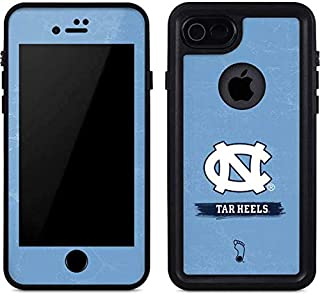 Skinit North Carolina Tar Heels iPhone 8 Waterproof Case - Officially Licensed Phone Case - Fully Submersible - Snow, Dirt, Water Protected iPhone 8 Cover