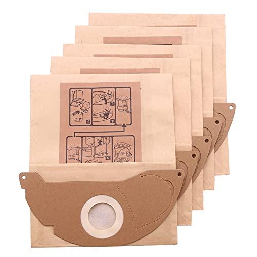 Monland 5 Piezas/Juego Bolsas de Polvo de Basura de Papel de Aspiradora para WD2250 A2004 A2054 MV2 Accesorio de MáQuina Aspiradora