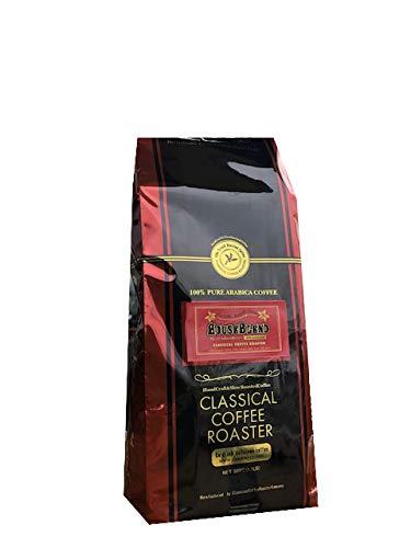 コーヒー豆 クラシカルコーヒーロースター 100%アラビカ豆 ハウスブレンド 500g (1.1lb) 豆のまま