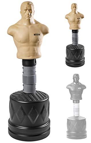 Bad Company Bob der Box-Dummy I Höhenverstellbarer Boxsack-Torso für gezieltes Kombinationstraining I BCA-78 (Naturell)