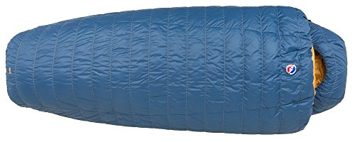 Big Agnes Deer Park 30 (600 DownTek) Sleeping Bag, Wide Long, Blue