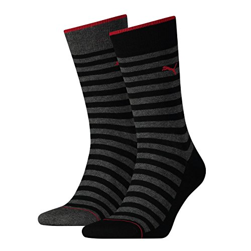 PUMA Herren Socken Classic 4er Pack, Größe:43-46;Farbe:Black (200)