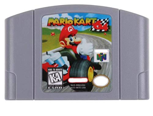 Cenxaki Game Cartridge Card for Nintendo 64 Mario Kart N64 US Version